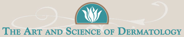 Art and science of dermatology logo